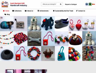 losthorizon-nepal.com screenshot