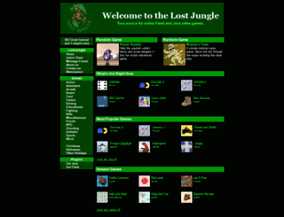 lostjungle.com screenshot
