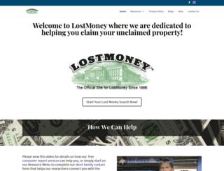 lostmoney.com screenshot