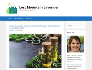lostmountainlavender.com screenshot