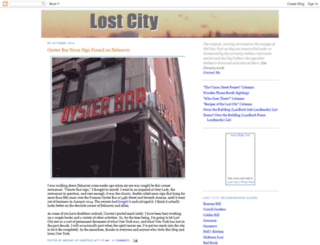 lostnewyorkcity.blogspot.com screenshot