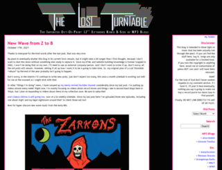lostturntable.com screenshot