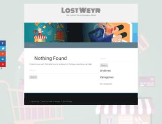 lostweyr.org screenshot
