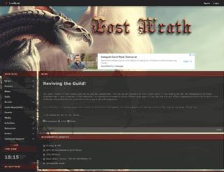 lostwrath.shivtr.com screenshot
