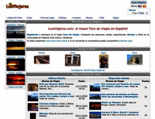 losviajeros.net screenshot