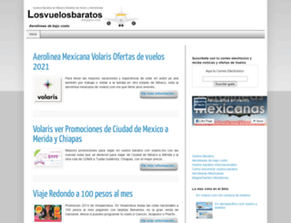 losvuelosbaratos.blogspot.com screenshot