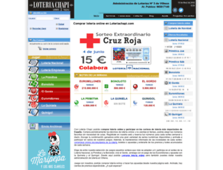 loteriachapi.com screenshot