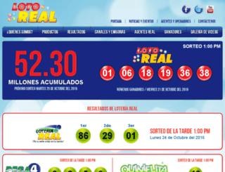 loteriareal.com screenshot