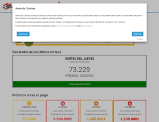 loteriasmurcia.es screenshot
