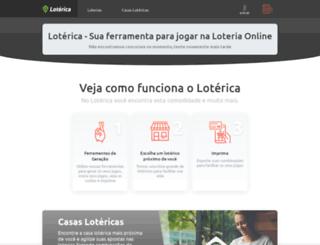 loterica.com.br screenshot