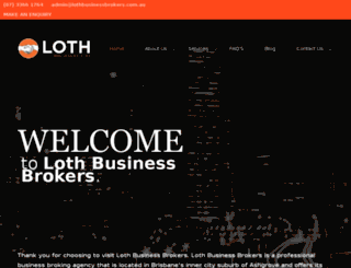 lothbusinessbrokers.com.au screenshot