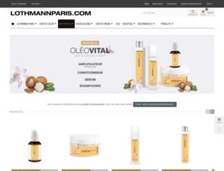 lothmannparis.com screenshot