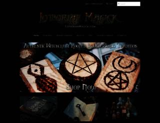 lothorianmagick.com screenshot