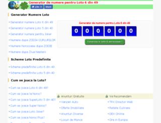 loto.trx.ro screenshot