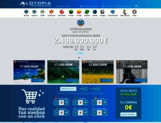 lotopia.com screenshot