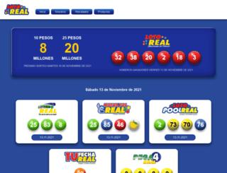 lotoreal.com.do screenshot