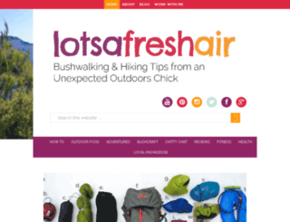 lotsafreshair.com screenshot