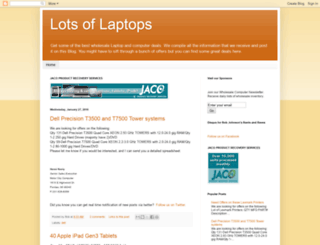 lotsoflaptops.com screenshot