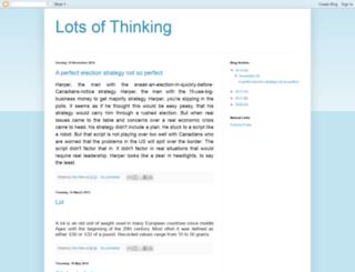 lotsofthinking.blogspot.com screenshot
