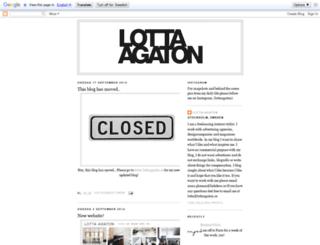 lottaagaton.blogspot.co.uk screenshot