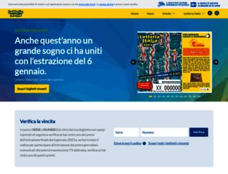 lotteria-italia.it screenshot