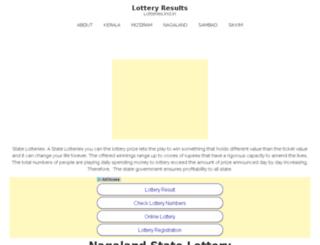 lotteries.ind.in screenshot