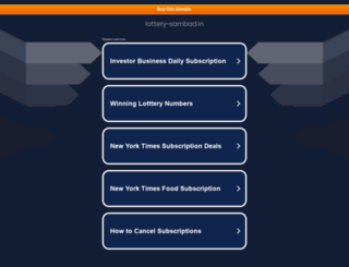 lottery-sambad.in screenshot