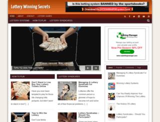 lottery.azhubs.com screenshot