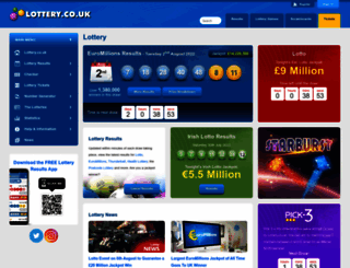 lottery.co.uk screenshot