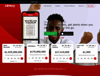 lottery.com screenshot