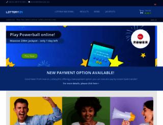 lottery24.com screenshot