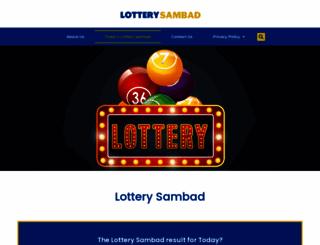 lotterysambad.info screenshot