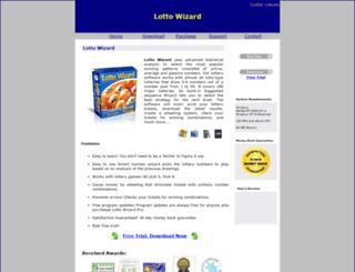 lotto-wizard.net screenshot