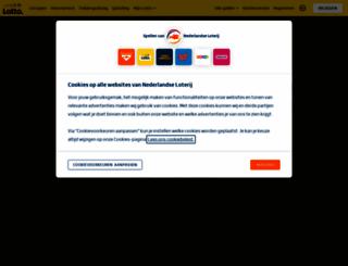lotto.nl screenshot