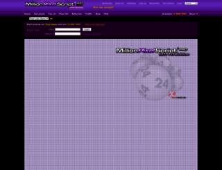 lotto.texmedia.de screenshot