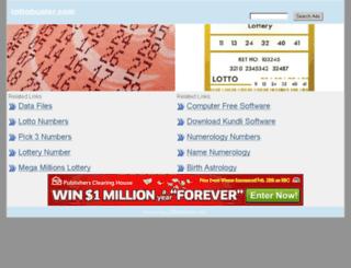 lottobuster.com screenshot