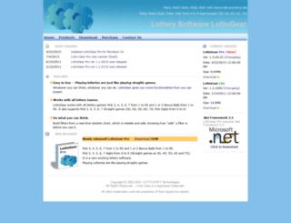 lottogear.com screenshot