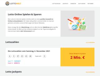 lottowelt.de screenshot