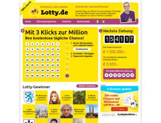 lotty.de screenshot