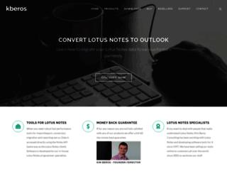 lotus-notes-export.com screenshot