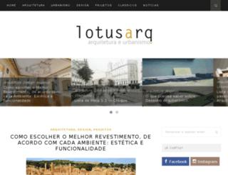 lotusarq.com.br screenshot
