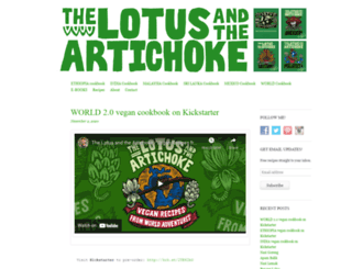 lotusartichoke.com screenshot