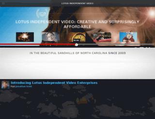 lotusindependentvideo.com screenshot