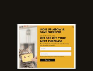 lotuspetfoods.com screenshot