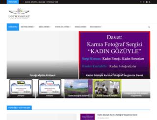 lotussanat.com screenshot