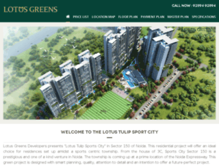 lotustulipsportscity.com screenshot