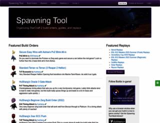 lotv.spawningtool.com screenshot