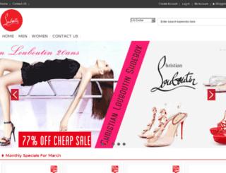 louboutin-sale.net screenshot