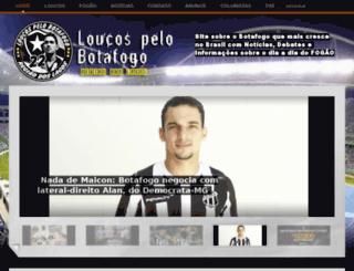 loucospelobotafogoregiaodoslagos.com screenshot