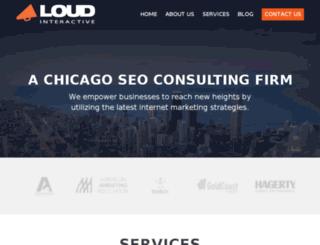 loudinteractive.com screenshot
